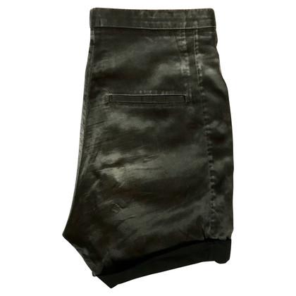 Acne Pantaloncini misto seta