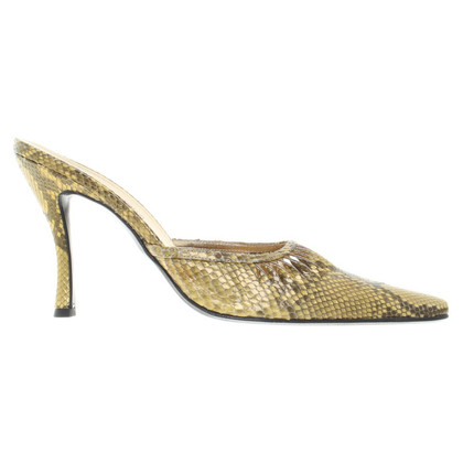 Gianmarco Lorenzi pumps of reptile leather