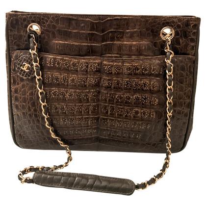 Chanel Crocodile leather handbag