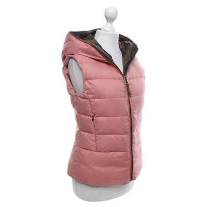 Fendi Quilted vest in rosé