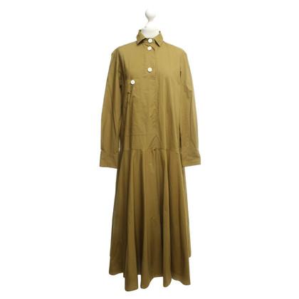 Marni Mustard yellow shirt dress