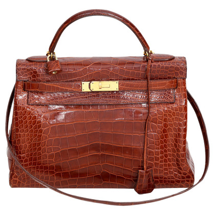 "Hermès ""Kelly Bag 32 Alligator Mississipiensis"""