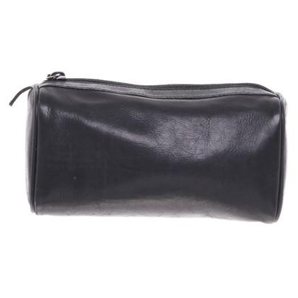 Gucci Lederen tas in zwart