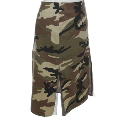 Pinko skirt with camouflage pattern