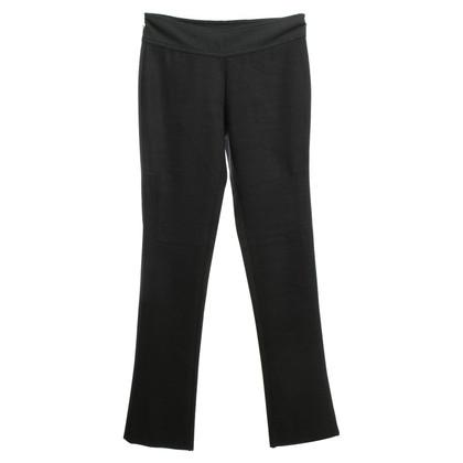 Diane von Furstenberg Dark gray trousers