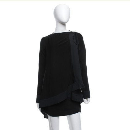 Plein Sud Blouse jacket in black