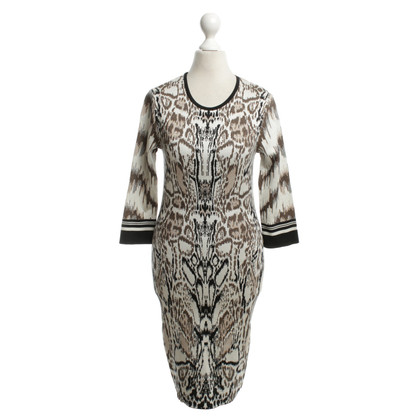 Roberto Cavalli Knit dress in animal design