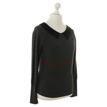 Sonia Rykiel Striped sweater in grey-black