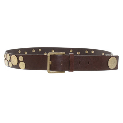Chanel Ledergürtel mit Metalldetails