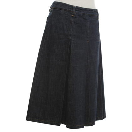 Miu Miu Denim skirt in dark blue