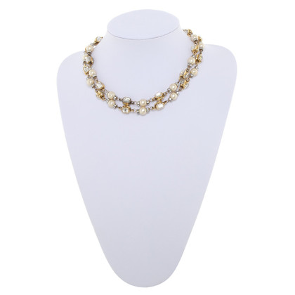 Chanel Gold & Silver colored Necklace