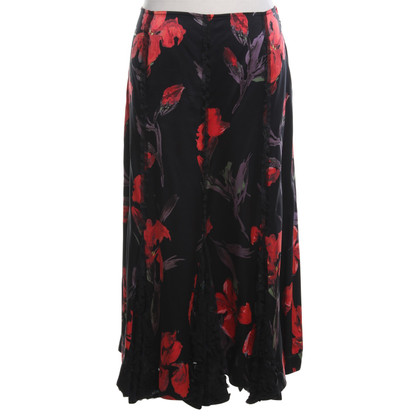 Other Designer Mariella Burani - skirt with a floral pattern