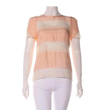 Claudie Pierlot Silk blouse shirt
