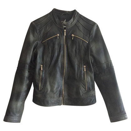 Arma Lamb leather biker jacket
