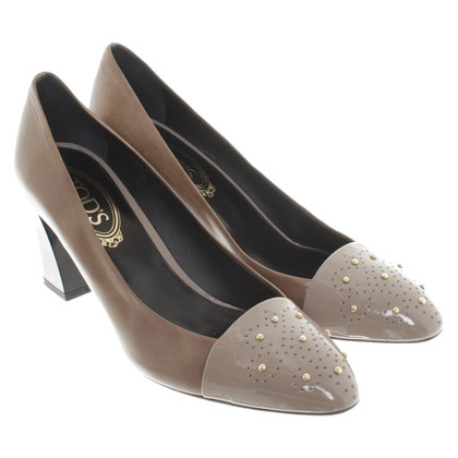 Tod's pumps with rivets