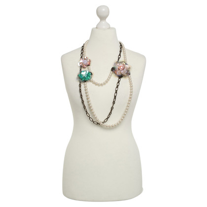 Lanvin for H&M Necklace with floral applications