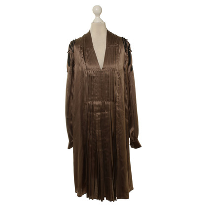 Day Birger & Mikkelsen Pleated silk dress