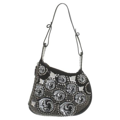 Fendi Handbag with appliqués