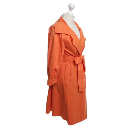 Iris von Arnim Coat in orange