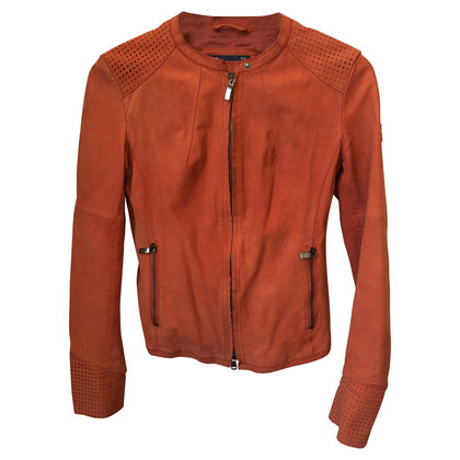 Armani Jeans Suede leather jacket