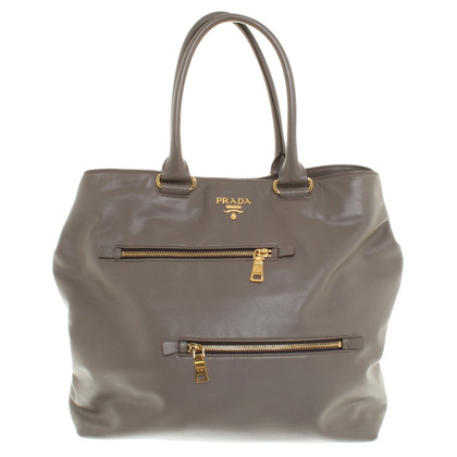 Prada Tote Bag in Taupe