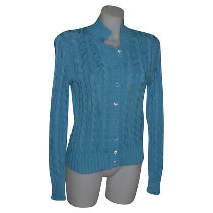 Fabiana Filippi Blaue Strickjacke