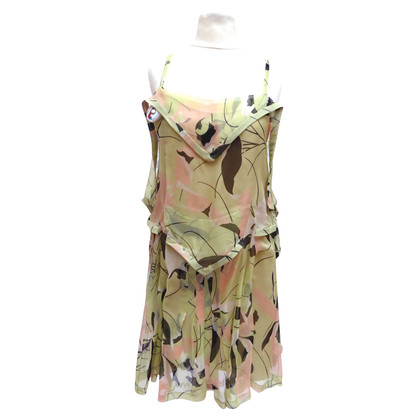 Miu Miu Silk dress with print
