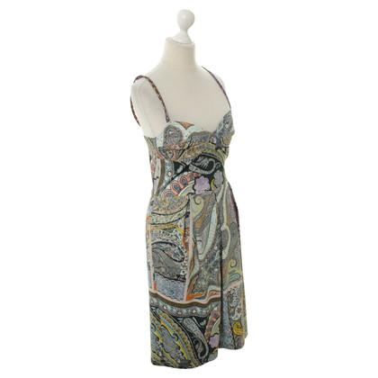 Etro Schort jurk met Paisley patroon