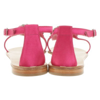 Manolo Blahnik Sandals in fuchsia