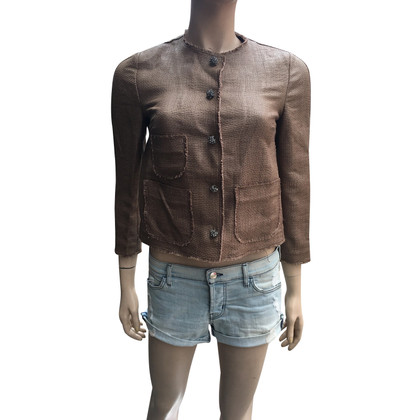 Dolce & Gabbana Short Ladies Jacket With 3/4 Sleeves