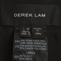 Derek Lam Mini skirt in salt pepper optics