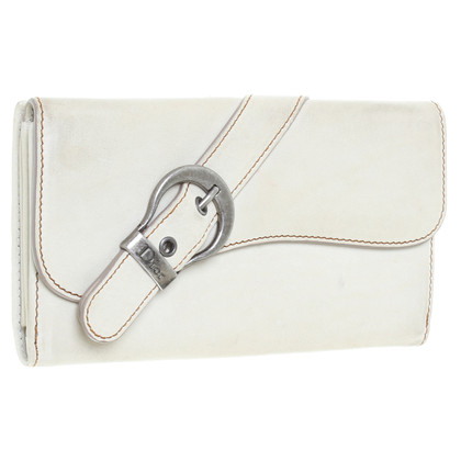 Christian Dior Portemonnaie in Beige
