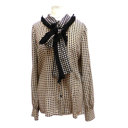 Tory Burch Silk blouse with Plaid