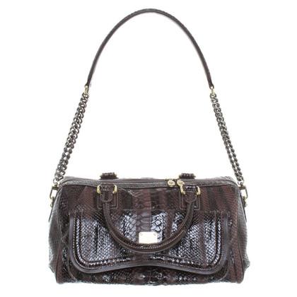 MCM Leather handbag in Brown