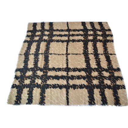 Burberry Cashmere towel with silk / wool