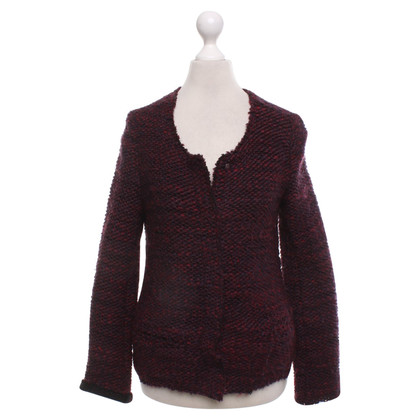 Iro Vest in Bordeaux