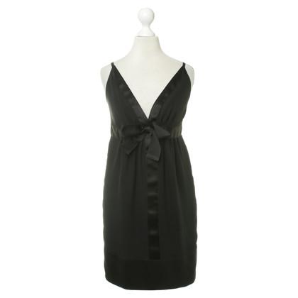 Chanel Top in seta nero