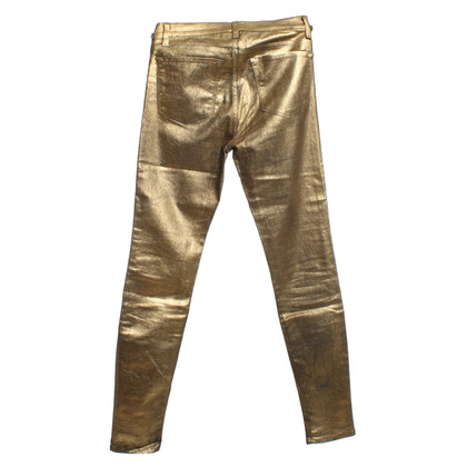 J Brand i jeans color oro Skinny