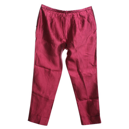 Antonio Marras Silk trousers in red