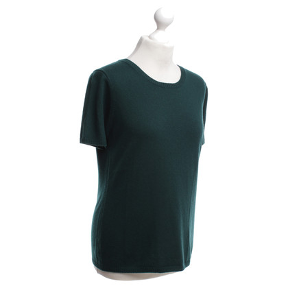 Iris von Arnim Cashmere sweater in forest green