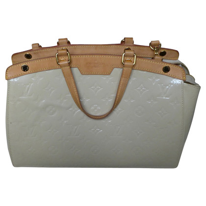 Louis Vuitton Brea monogram Vernis white
