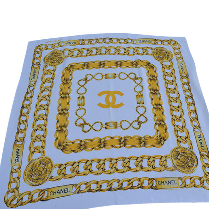 Chanel silk carré scarf