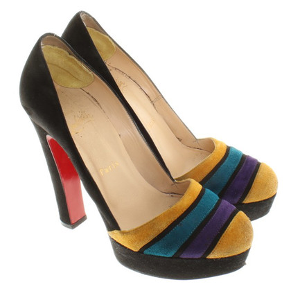 Christian Louboutin pumps from suede