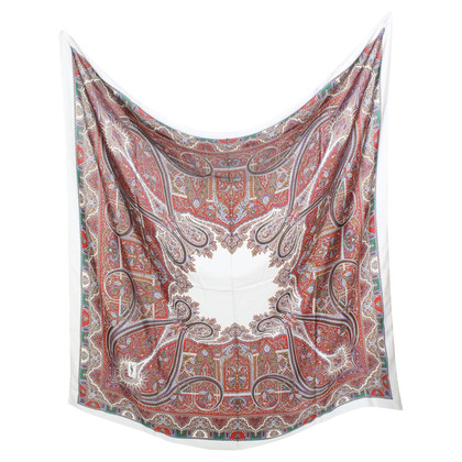 Yves Saint Laurent Silk scarf with paisley pattern