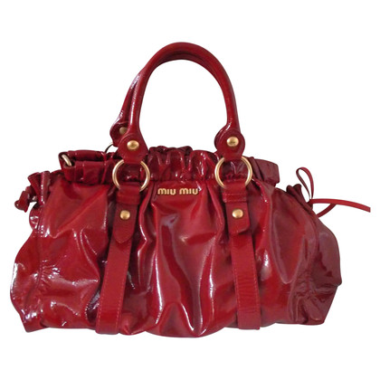 Miu Miu Red patent leather Miu Miu bag