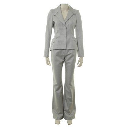 Mugler Pants suit in light grey