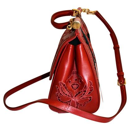 """Dolce & Gabbana """"Sicilië Bag"""" in het rood"""