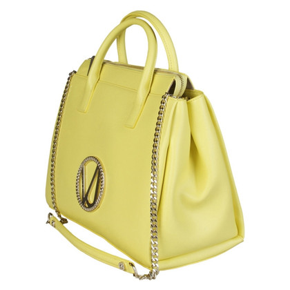 Versace Handbag Yellow Gold New