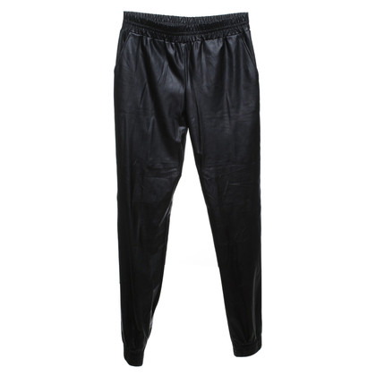 Philosophy di Alberta Ferretti trousers in leather look