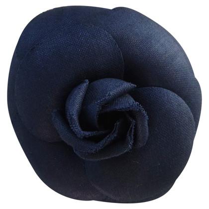 Chanel camellia broche